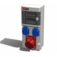 Alpenbox, розетка 16А/400В/5П/IP44-1шт, 16А/250В/3П/IP54 -2шт.