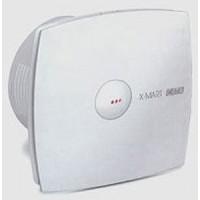 Вентилятор осевой 190 куб.м/час 25 Вт 230 В для настен.монтажа (диам.шахты 118мм) автомат.жалюзи белый серия X-Mart