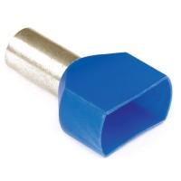 Наконечник-гильза изолир. двойной 10-14 мм (упак.100шт)