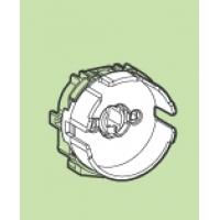 Патрон G13 для ламп Т8 торцевой накидной прозрачный