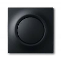 Клавиша для выключателя/переключателя 1 клавишного с подсветкой черный бархат Impuls