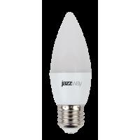 Лампа светодиодная 7 Вт 230В Е27 свеча, холодный белый
