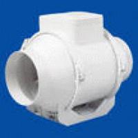 Вентилятор канальный 280 куб.м/час 106 Вт 230 В для систем вент.высокого давления (диам.шахты 125мм) серия TT