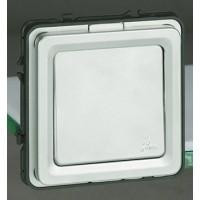 Выключатель/перключателей 1 клавишный IP55 алюминий Soliroc