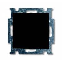 Выключатель 1- клавишный шато черный Basic 55