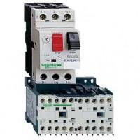 Комбинированный пускатель реверсивный 1,6-2,5А цепь управления 24В DС