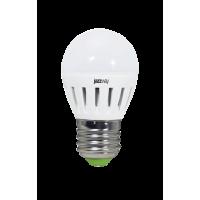 Лампа светодиодная 3,5 Вт 230В Е27 шарик, термопластик, тёплый белый