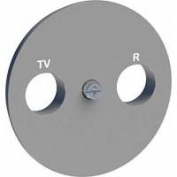 Накладка для розетки телевизионной R-TV/SATалюминий Odace