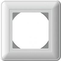 Рамка 1 пост IP44  белый Wessen59