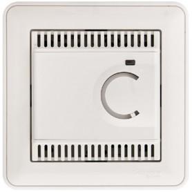 Термостат электронный для теплого пола 10А белый Wessen59