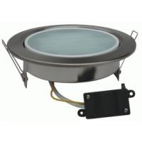Светильник встраиваемый для КЛЛ 13Вт GX70, 53*151, лампа в комплекте 2700К