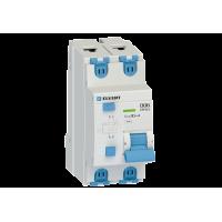 Автоматический выключатель дифф.тока D06 2р C20 30 мА электрон. тип АС ELVERT