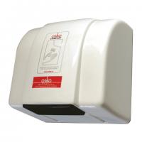 Сушилка для рук 1,4 кВт 220 В поток воздуха 39 л/с корпус пластик цвет белый IP23