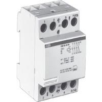 Контактор модульный 40А кат. 220В 4НО тип ESB40-40
