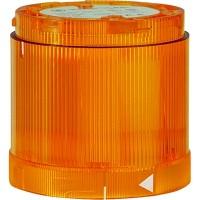 Сигнальная лампа KL70-401Y желтая постоянного свечения 12-240В A C/DC (лампочка отдельно)