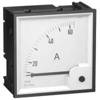 Шкала сменная для амперметра аналогового панельного AMP на 50А 72х72 мм угол полной шкалы 90 град.