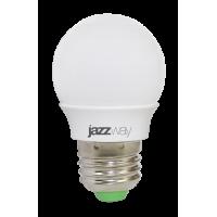 Лампа светодиодная 3 Вт 230В Е27 шарик, холодный белый