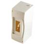 Коробка монтажная установочная под 2-4 автомат. выкл., белая, IP40, 90x130x62 мм