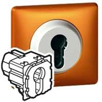 Механизм выключателя c ключом Celiane