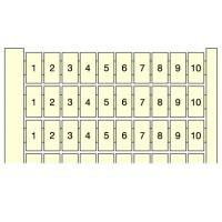 Маркер горизонтальный 10x(0-9) RC510