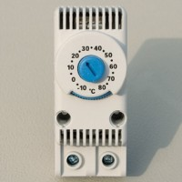 Термостат, диапазон -10 ~ +80 градусов С, контакт NO (нормально открытый)