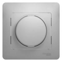 Светорегулятор универсальный 600вт алюминий Glossa