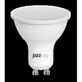 Лампа светодиодная 7 Вт 230В GU10 d=51mm, пластик, тёплый белый