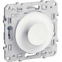 Светорегулятор поворотный универсальный 20-420Ва белый Odace