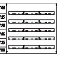 Пластрон глухой (ВхШ) 3ряда/5реек