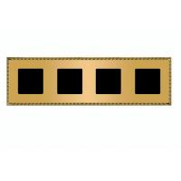 Рамка 4 поста oro rojo Toledo