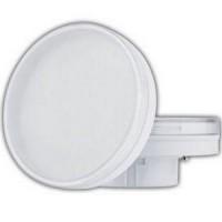 Лампа светодиодная 10 Вт GX70 2800К таблетка матовое стекло, тёплый T7MW10ELC
