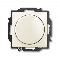Светорегулятор Busch-Dimmer с центральной платой Шале белый Basic 55