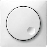 Накладка для светорегулятора поворотного полярно-белый System Disign