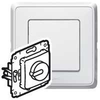 Светорегулятор 300 Вт белый Cariva
