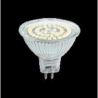 Лампа светодиодная 3 Вт 230В GU5.3 d=51mm, белый