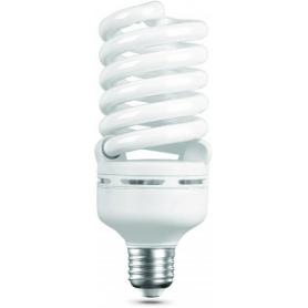 Лампа энергосберегающая 45 Вт Е27 4200К спираль, холодный