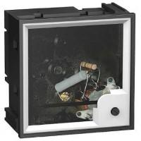 Амперметр аналоговый панельный транс.включения для измерения переменного тока без шкалы 72х72 мм серия AMP