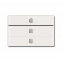 Сенсор 3-клавишный белое стекло (6342-810-101-500)