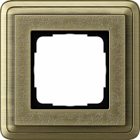 Рамка 1 пост бронза/бронза CassiX Art
