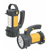 Фонарь-прожектор-кемпинг 15+12LED 3AA  дальность 50м
