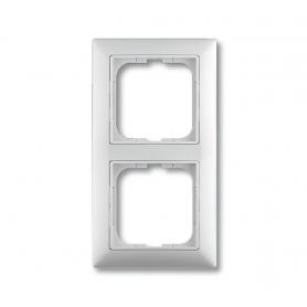 Рамка 2 поста альпийский белый Basic 55