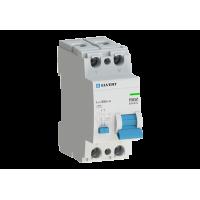 Устройство защитного отключения R10 2P 16А 30мА AC электрон. ELVERT