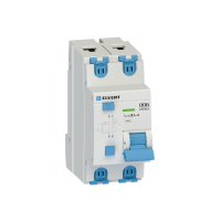 Автоматический выключатель дифф.тока D06 2р C25 30 мА электрон. тип АС ELVERT