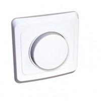 Светорегулятор (диммер) поворотный 300W белый Этюд