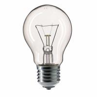 Лампа накаливания 75 Вт, 220В, E27, прозрачная