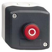Кнопочный пост управления с красной кнопкой с маркировкой