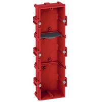 Коробка Batibox для кирпичных стен  6-8 модулей глубина 40мм