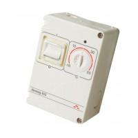 Терморегулятор накладной с датчиком пола 3м с регулятором (t= -10+50 C) IP 44   Д-610