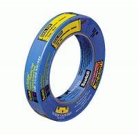 Скотч малярный 25 мм х 55 м, синий, 2090-1А