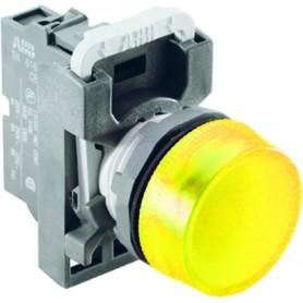 Лампа ML1-100Y желтая сигнальная (только корпус)